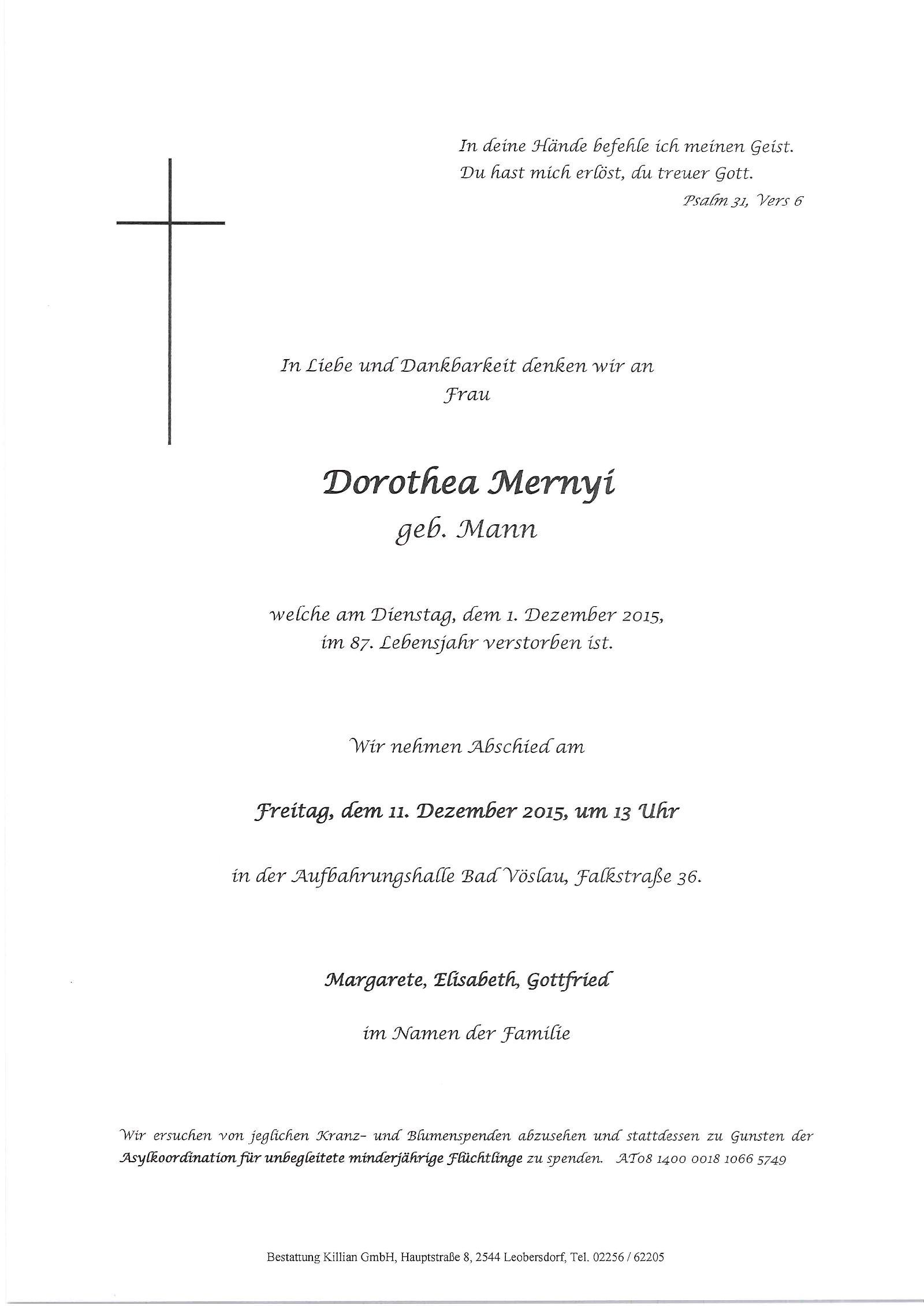 Dorothea Merny